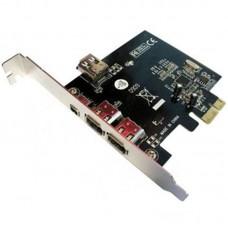 PCI EXPRESS CARD 1394 FIREWIRE